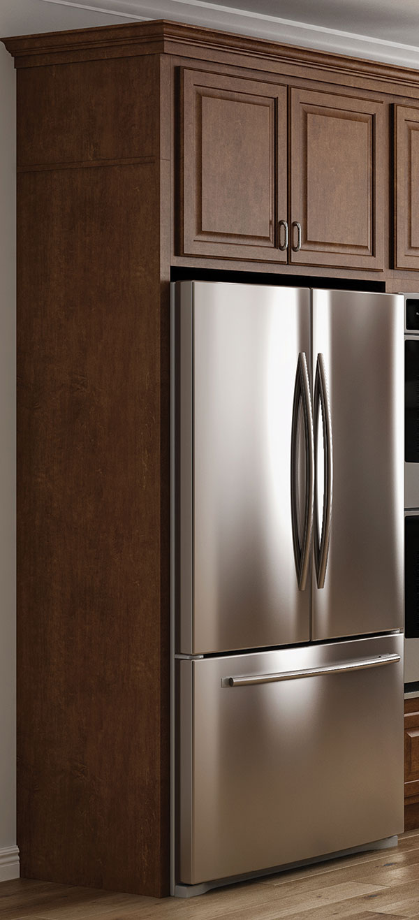 Deep Refrigerator Cabinet End Panel